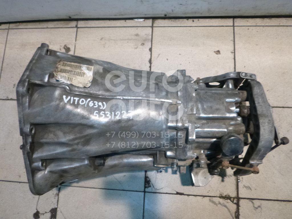 МКПП (механическая коробка переключения передач) для Mercedes Benz Vito/Viano-(639) 2003-2014 - Фото №1