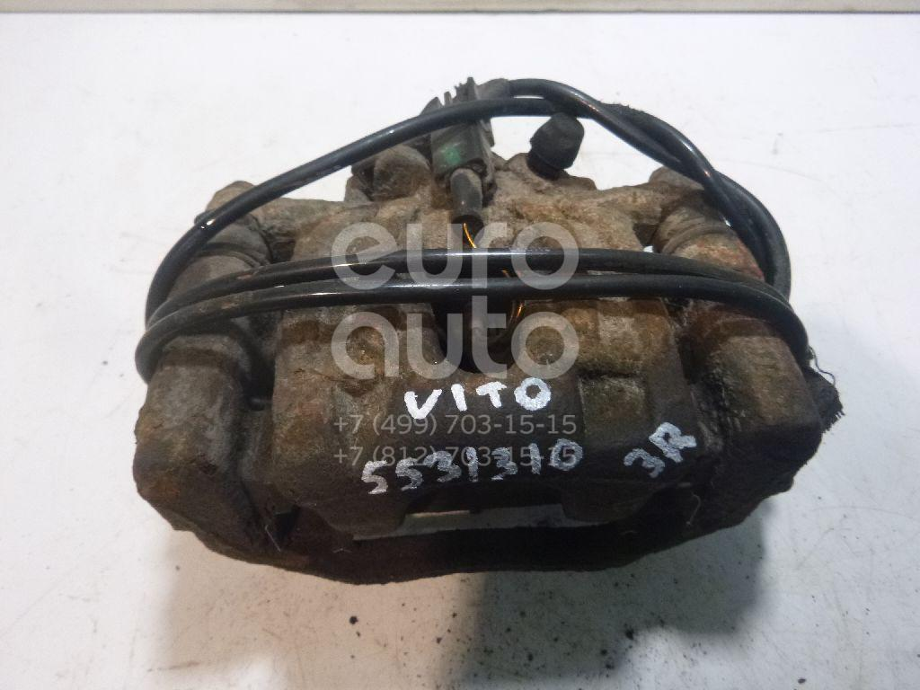 Суппорт задний правый для Mercedes Benz Vito/Viano-(639) 2003-2014 - Фото №1