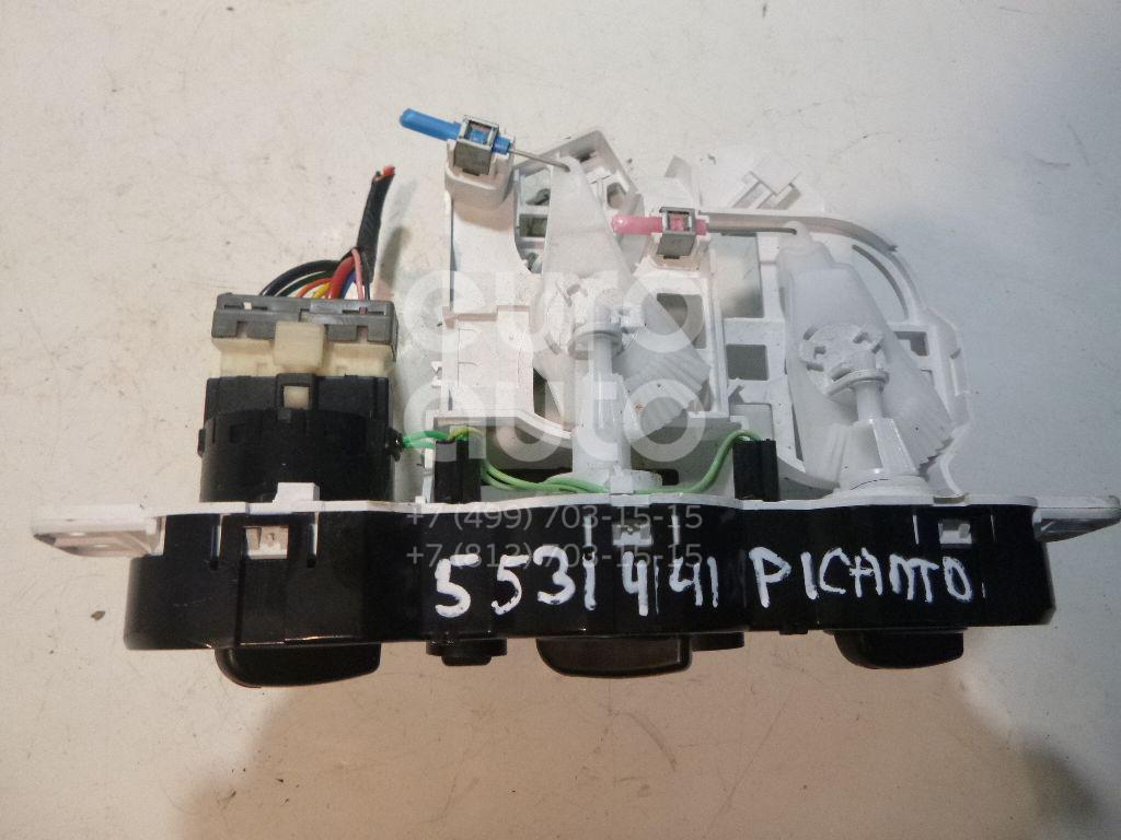 Блок управления отопителем для Kia Picanto 2005-2011 - Фото №1