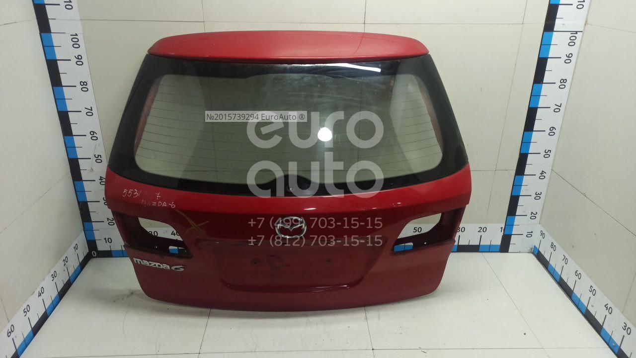 Дверь багажника со стеклом для Mazda Mazda 6 (GG) 2002-2007 - Фото №1