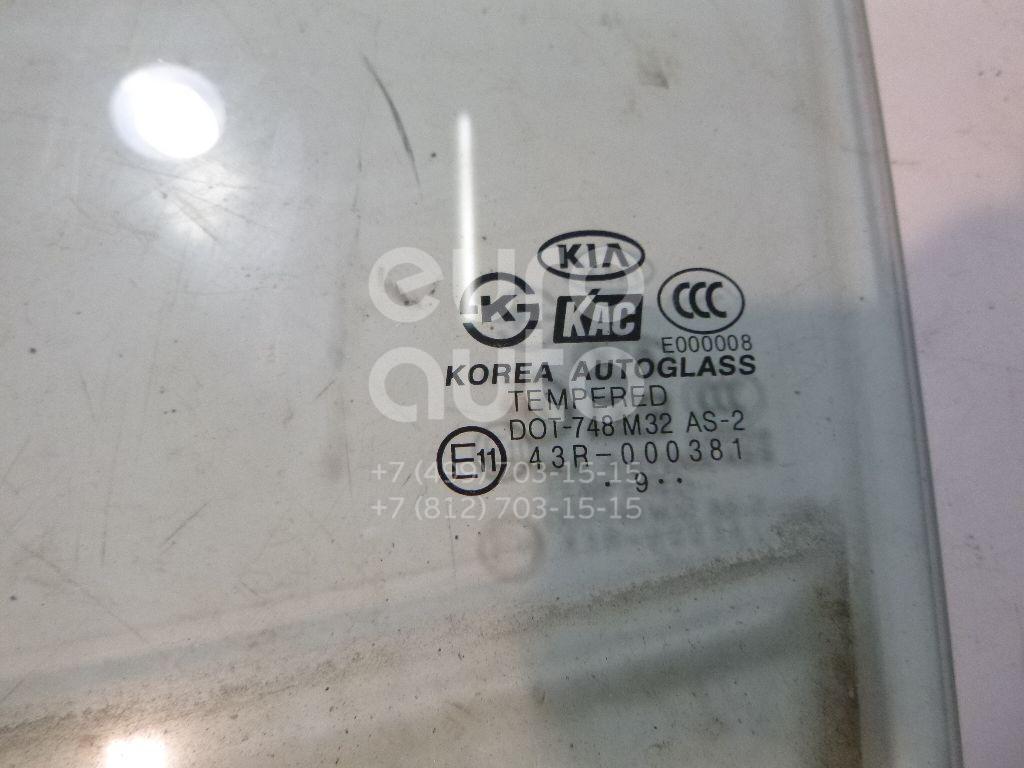 Стекло двери задней левой для Kia Picanto 2004-2011 - Фото №1