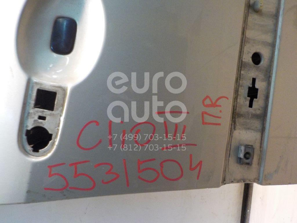 Дверь передняя правая для Renault Clio III 2005-2012 - Фото №1