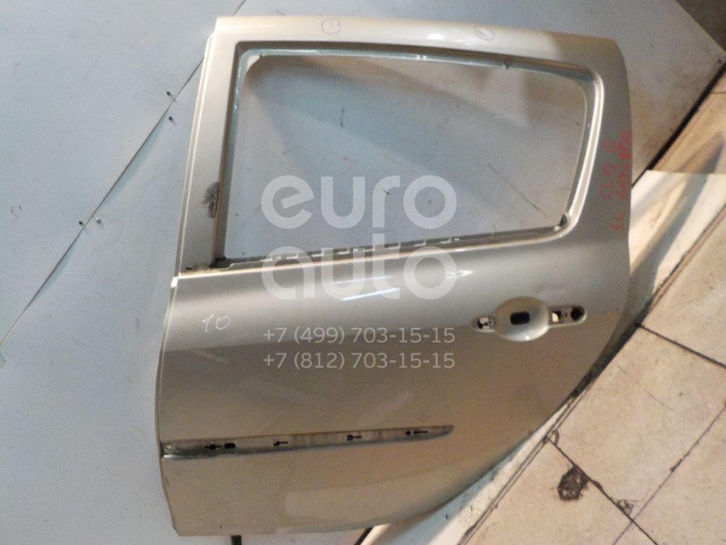 Дверь задняя левая для Renault Clio III 2005-2012 - Фото №1