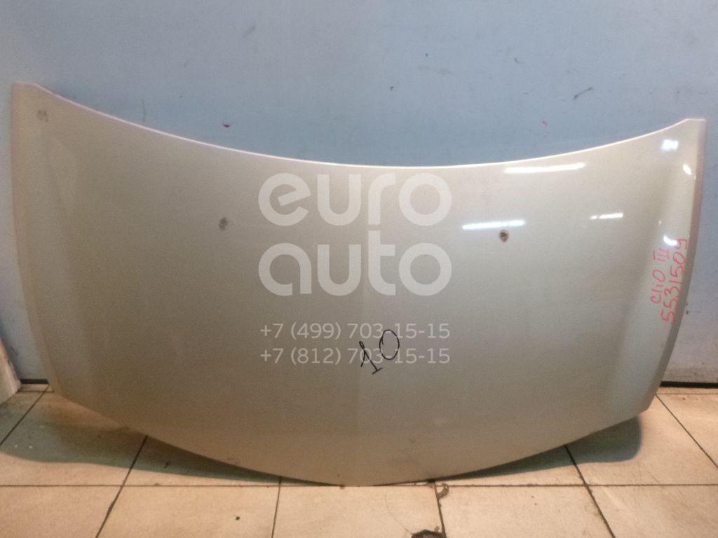 Капот для Renault Clio III 2005-2012 - Фото №1