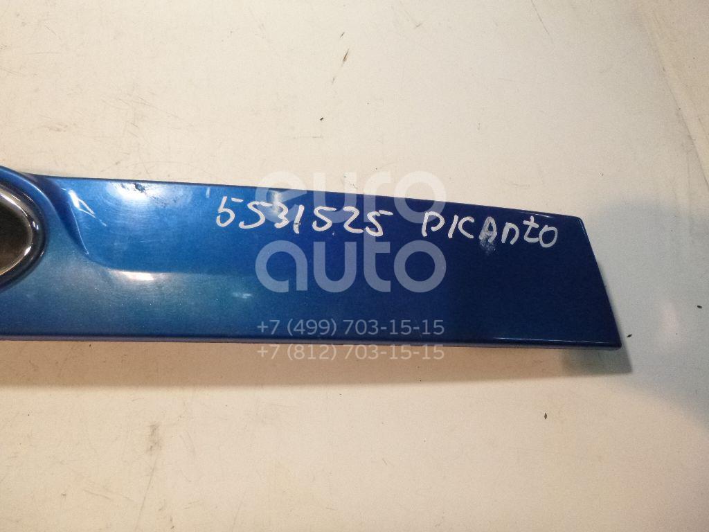 Накладка двери багажника для Kia Picanto 2005-2011 - Фото №1