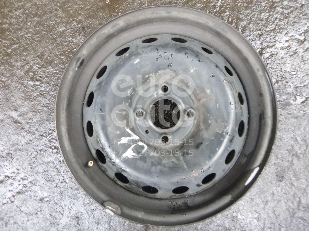 Диск колесный железо для Renault Clio III 2005-2012;Modus 2004-2012 - Фото №1