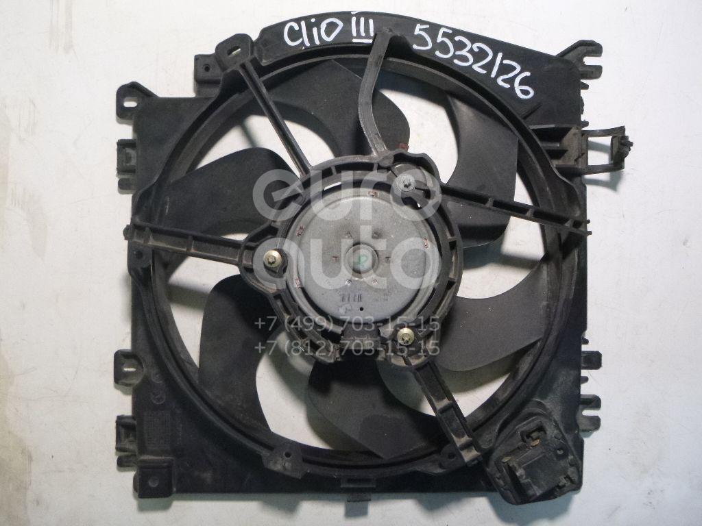 Вентилятор радиатора для Renault,Nissan Clio III 2005-2012;Micra (K12E) 2002-2010;Modus 2004-2012 - Фото №1