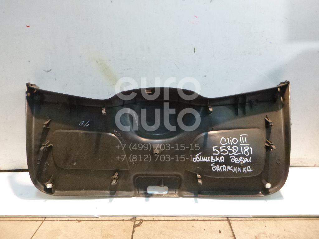 Обшивка двери багажника для Renault Clio III 2005-2012 - Фото №1