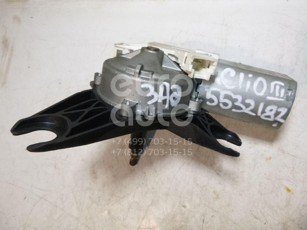 Моторчик стеклоочистителя задний для Renault Clio III 2005-2012;Twingo 2007-2014;Modus 2004-2012 - Фото №1