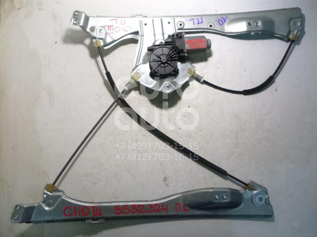 Стеклоподъемник электр. передний левый для Renault Clio III 2005-2012 - Фото №1