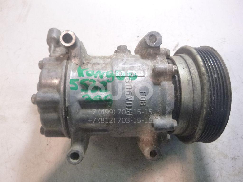 Компрессор системы кондиционирования для Renault Kangoo 2008>;Megane II 2002-2009;Note (E11) 2006-2013;Scenic 2003-2009;Micra (K12E) 2002>;Clio III 2005-2012;Modus 2004> - Фото №1