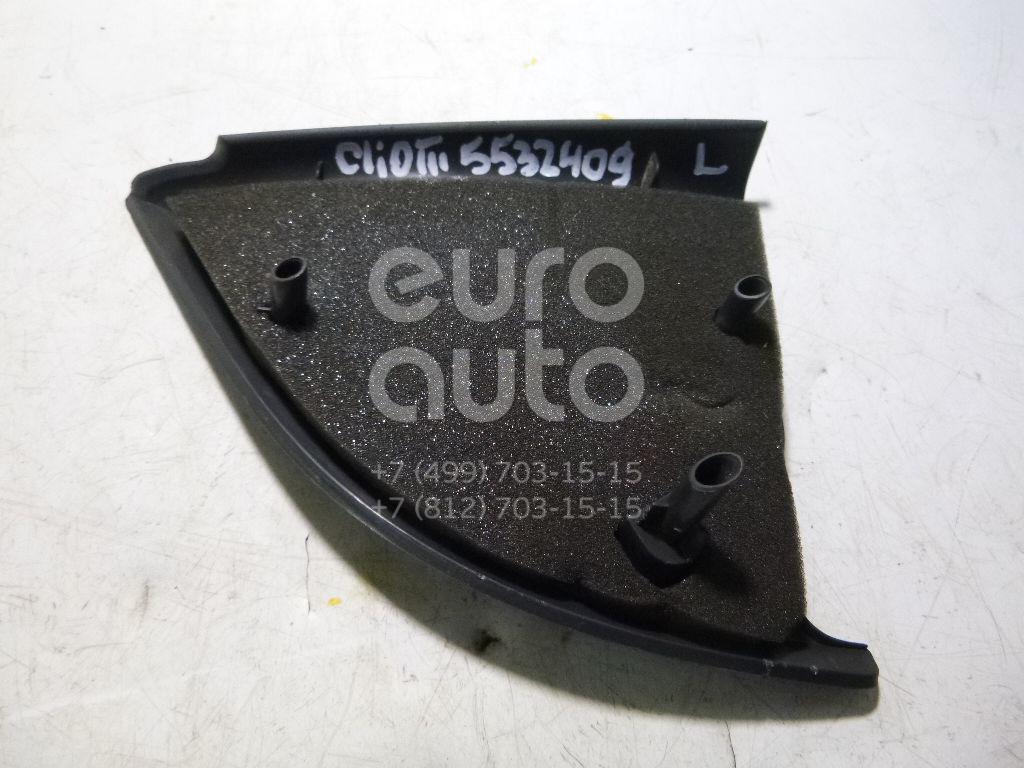 Крышка зеркала внутренняя левая для Renault Clio III 2005-2012 - Фото №1