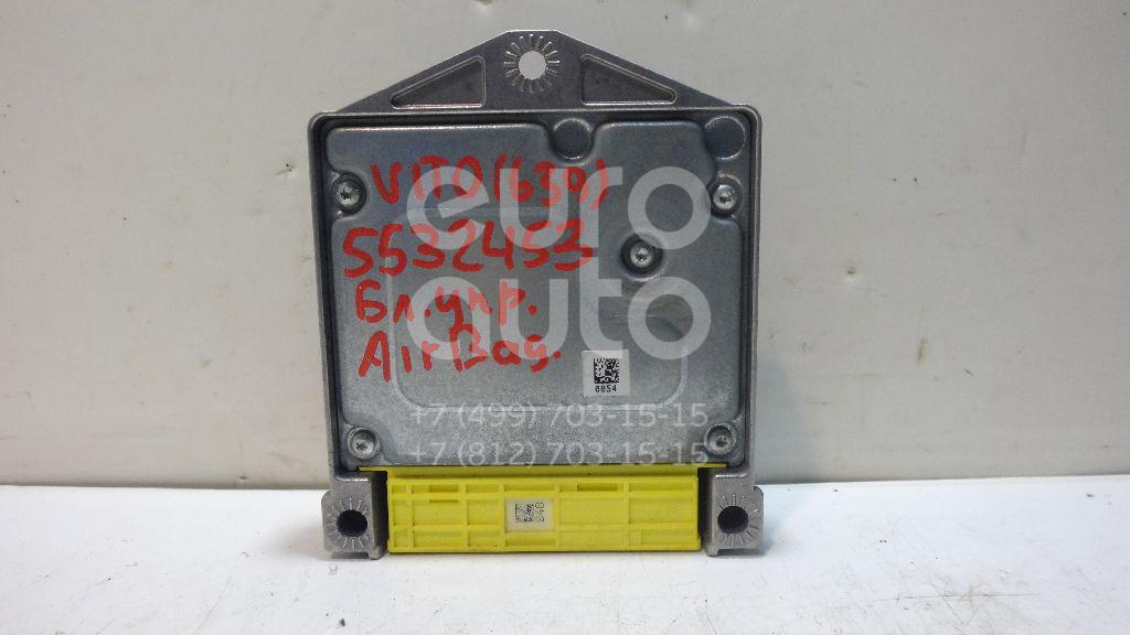 Блок управления AIR BAG для Mercedes Benz,VW Vito/Viano-(639) 2003-2014;Crafter 2006>;Sprinter (906) 2006> - Фото №1