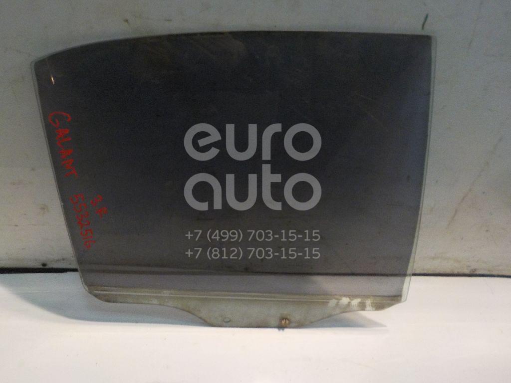 Стекло двери задней правой для Mitsubishi Galant (EA) 1997-2003 - Фото №1