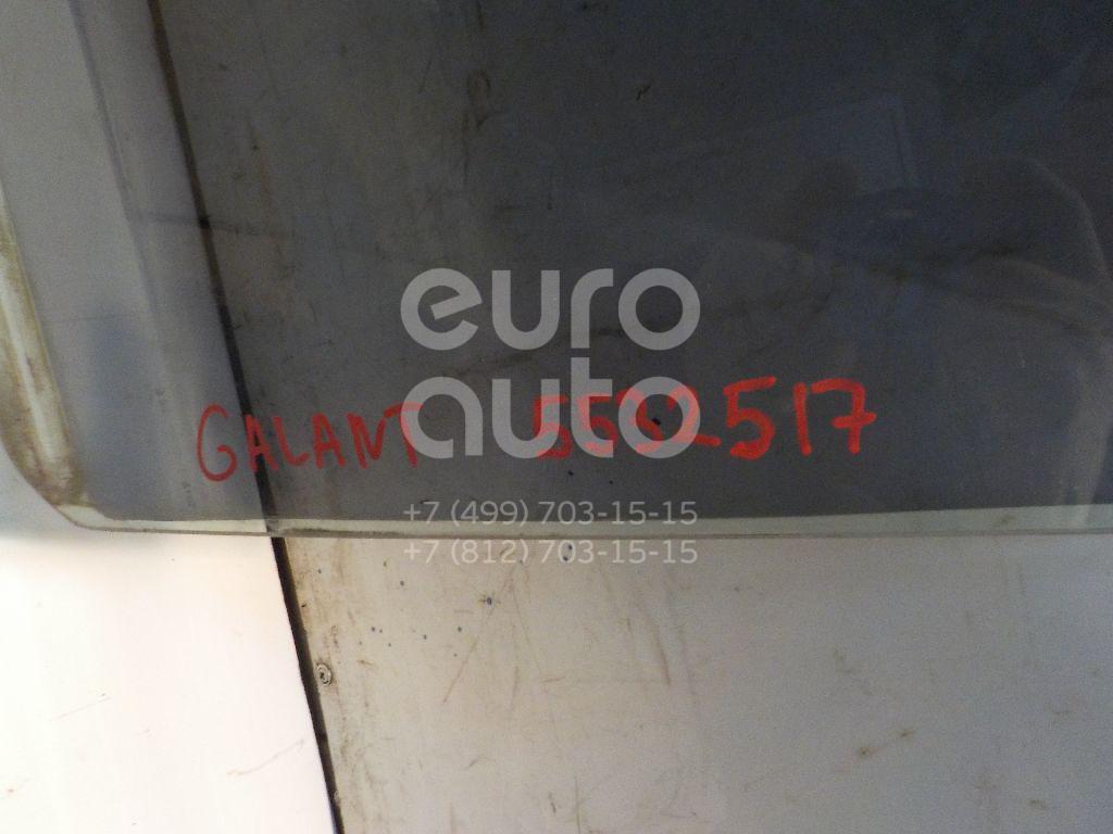 Стекло двери задней левой для Mitsubishi Galant (EA) 1997-2003 - Фото №1