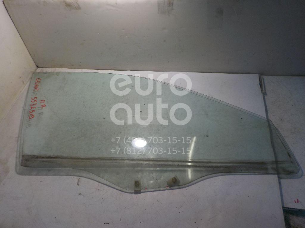 Стекло двери передней правой для Mitsubishi Galant (EA) 1997-2003 - Фото №1