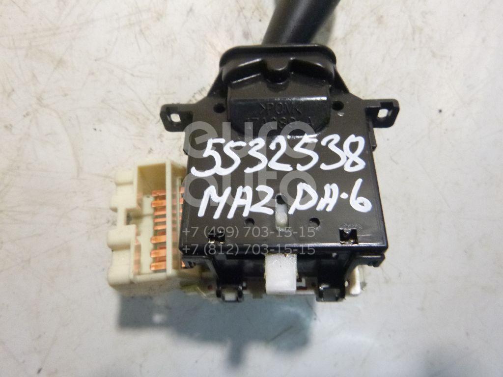 Переключатель поворотов подрулевой для Mazda Mazda 6 (GG) 2002-2007;CX 7 2007>;RX-8 2003>;Mazda 6 (GH) 2007-2012;CX 9 2007> - Фото №1