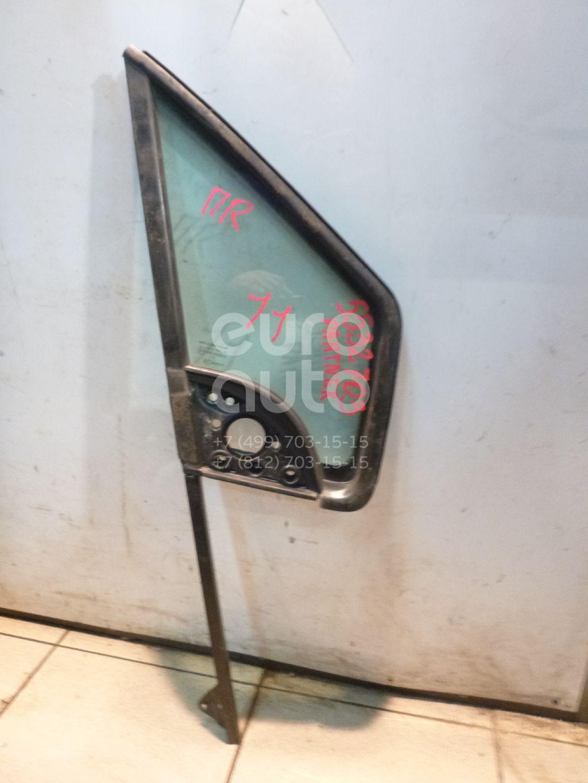 Стекло двери передней правой (форточка) для Peugeot,Citroen Partner Tepee(B9) 2008>;Berlingo (NEW) (B9) 2008> - Фото №1