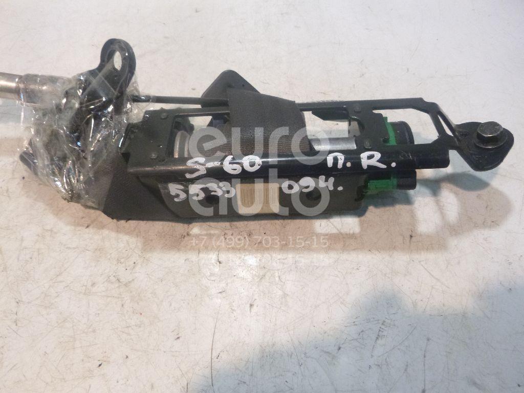 Ремень безопасности с пиропатроном для Volvo S60 2000-2009;XC70 Cross Country 2000-2006 - Фото №1
