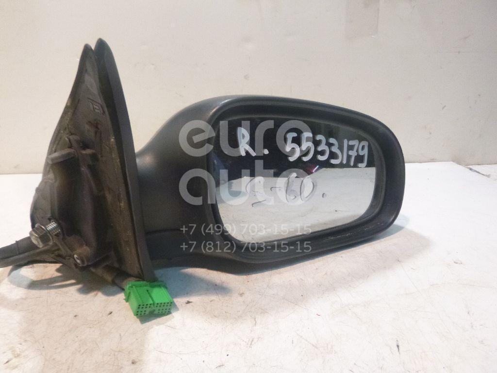 Зеркало правое электрическое для Volvo S60 2000-2009;V70 2001-2006 - Фото №1