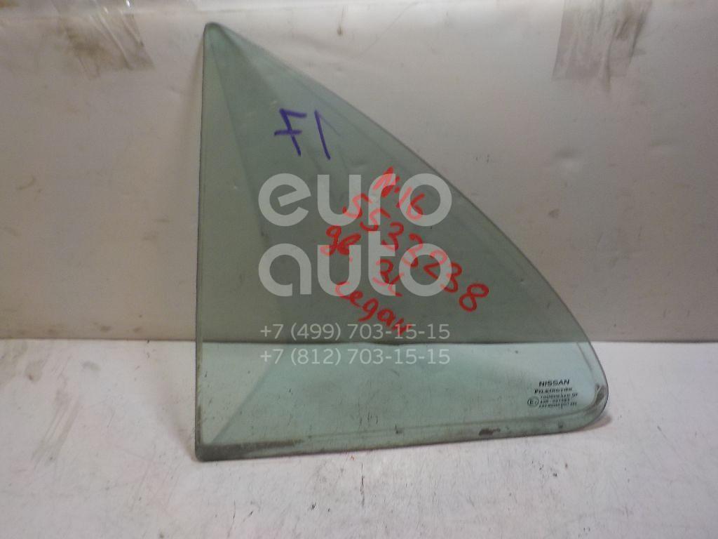 Стекло двери задней левой (форточка) для Nissan Almera N16 2000-2006 - Фото №1
