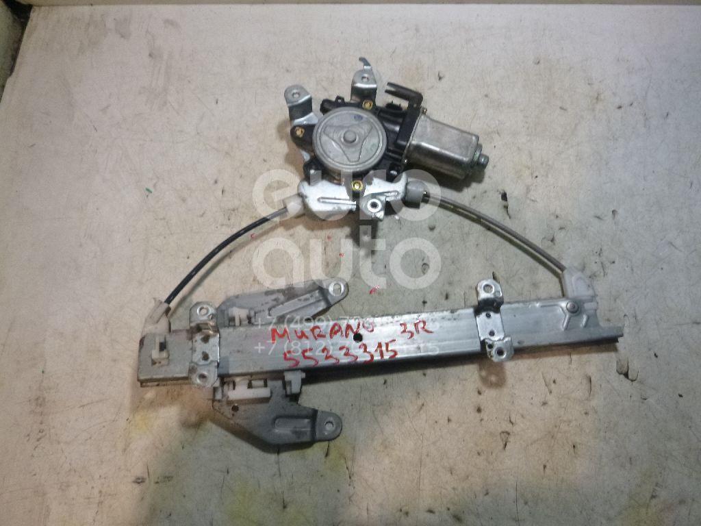 Стеклоподъемник электр. задний правый для Nissan Murano (Z50) 2004-2008 - Фото №1