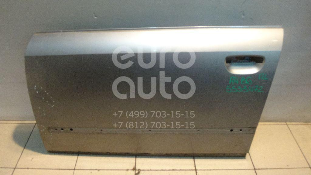 Дверь передняя левая для Audi A4 [B6] 2000-2004 - Фото №1
