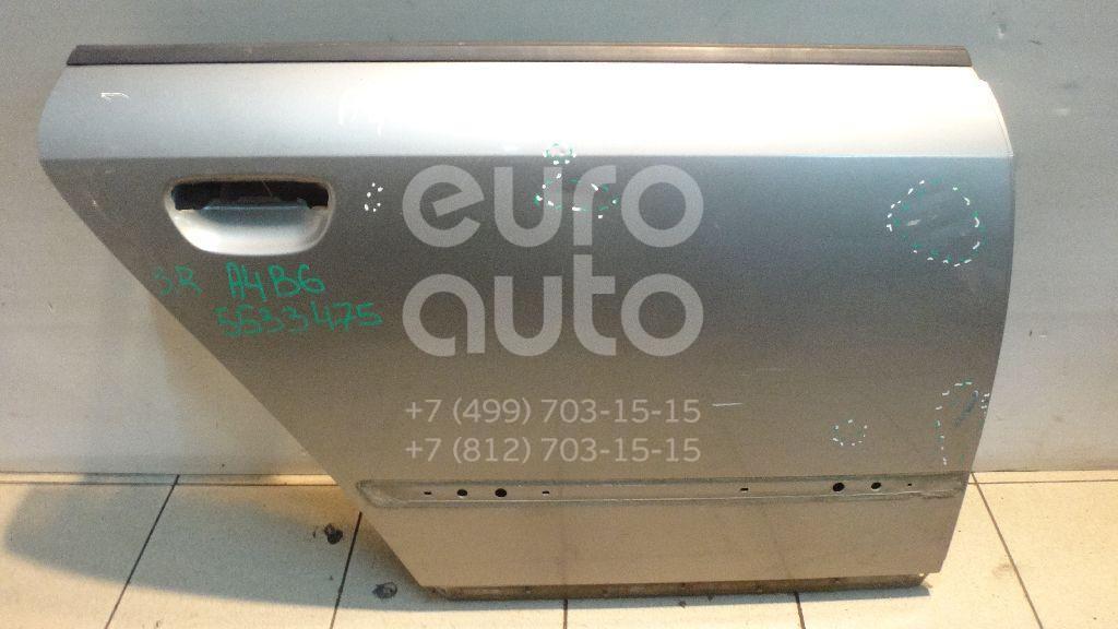 Дверь задняя правая для Audi A4 [B6] 2000-2004 - Фото №1