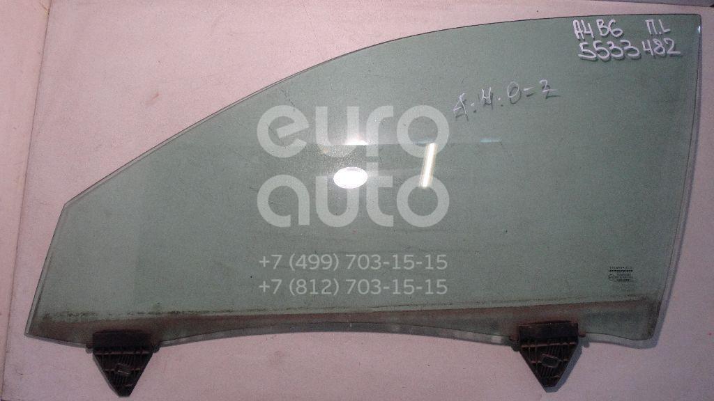 Стекло двери передней левой для Audi A4 [B6] 2000-2004;A4 [B7] 2005-2007 - Фото №1