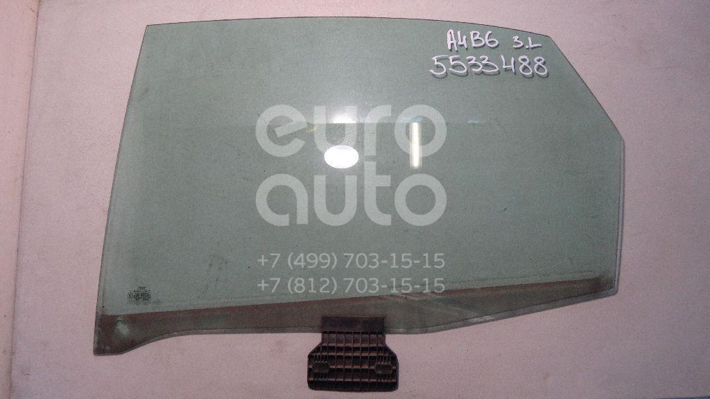 Стекло двери задней левой для Audi A4 [B6] 2000-2004;A4 [B7] 2005-2007 - Фото №1