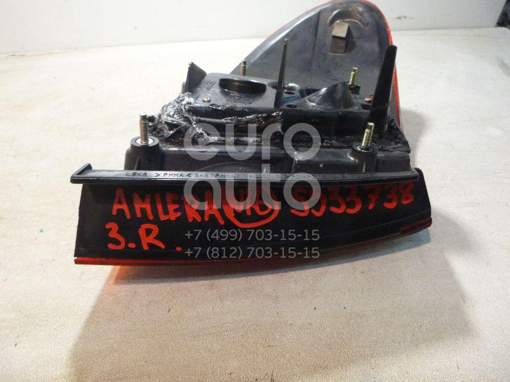 Фонарь задний наружный правый для Nissan Almera N16 2000-2006 - Фото №1