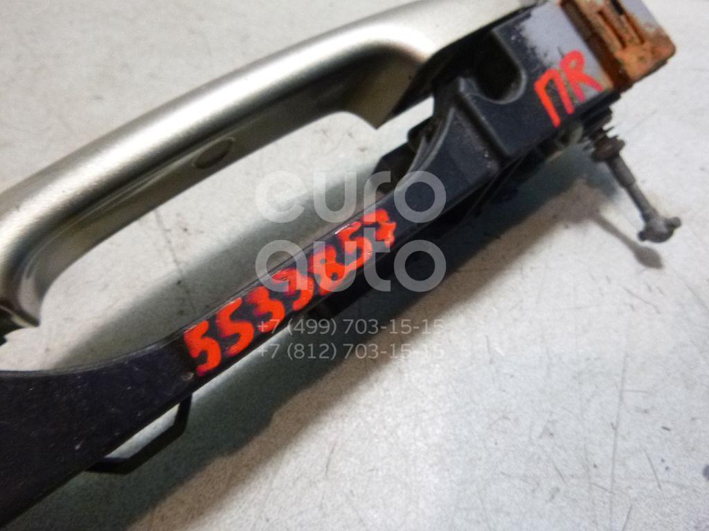 Ручка двери передней наружная правая для Nissan Primera P12E 2002> - Фото №1