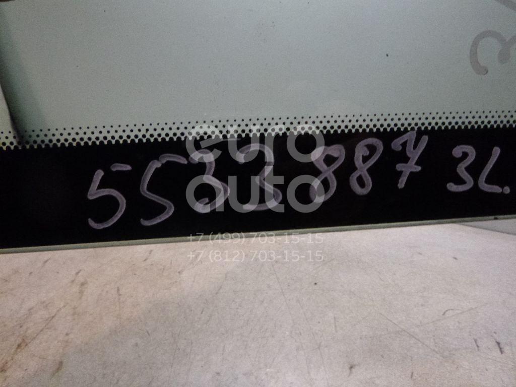 Стекло кузовное глухое левое для Citroen C3 2002-2009 - Фото №1