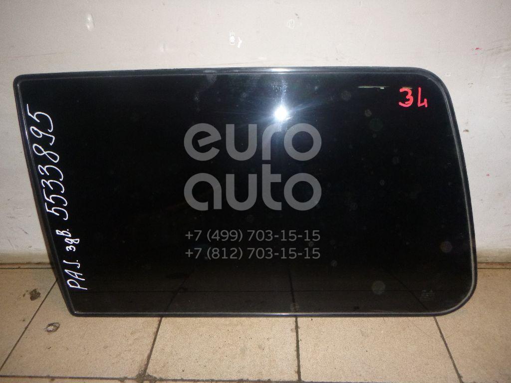 Стекло кузовное глухое левое для Mitsubishi Pajero/Montero II (V1, V2, V3, V4) 1997-2004 - Фото №1