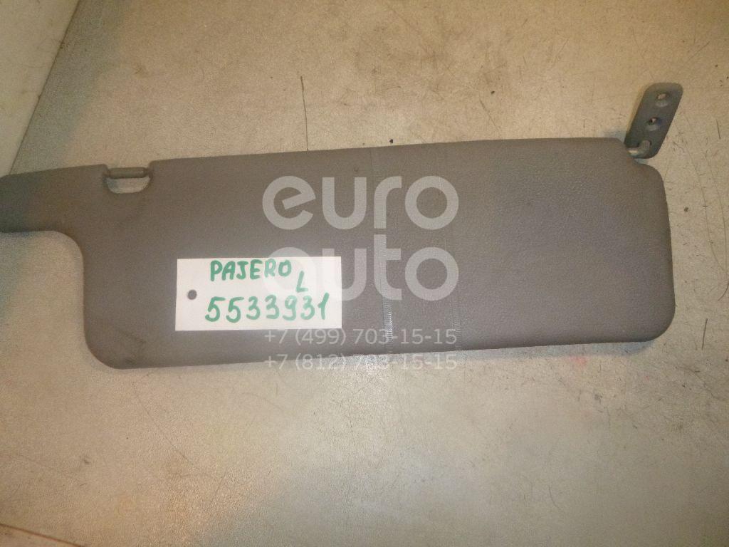 Козырек солнцезащитный (внутри) для Mitsubishi Pajero/Montero (V1, V2, V3, V4) 1997-2004 - Фото №1