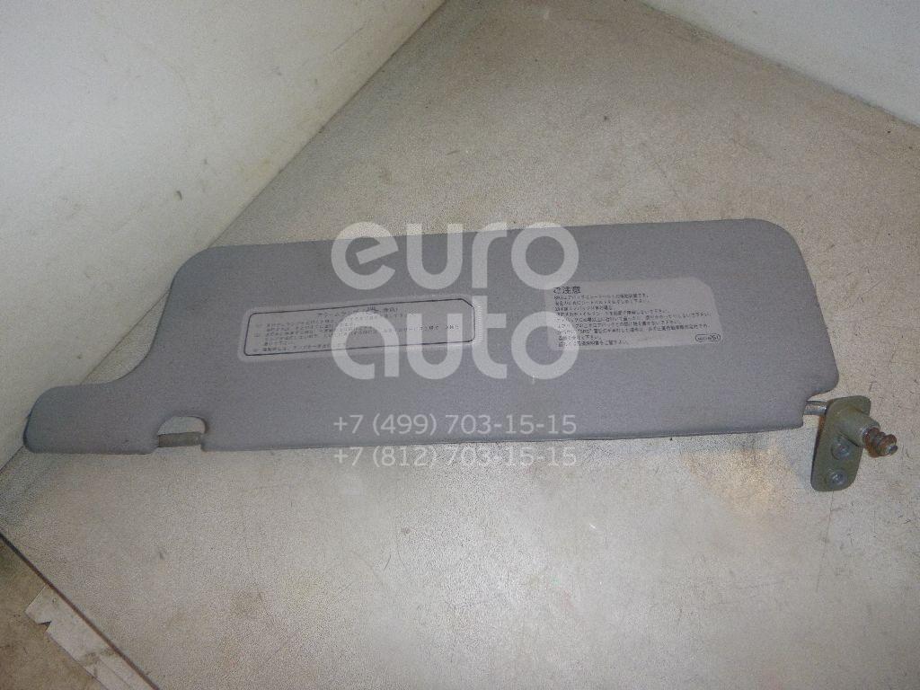 Козырек солнцезащитный (внутри) для Mitsubishi Pajero/Montero II (V1, V2, V3, V4) 1997-2001 - Фото №1
