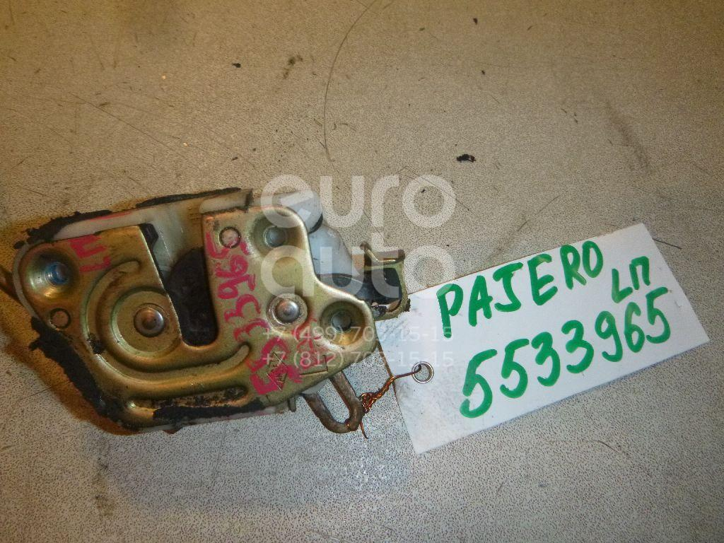 Замок двери передней левой для Mitsubishi Pajero/Montero II (V1, V2, V3, V4) 1997-2004;Pajero/Montero II (V1, V2, V3, V4) 1991-1996 - Фото №1