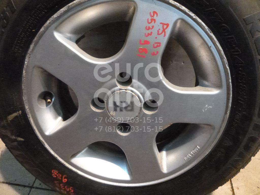 Диск колесный легкосплавный для VW Passat [B3] 1988-1993 - Фото №1