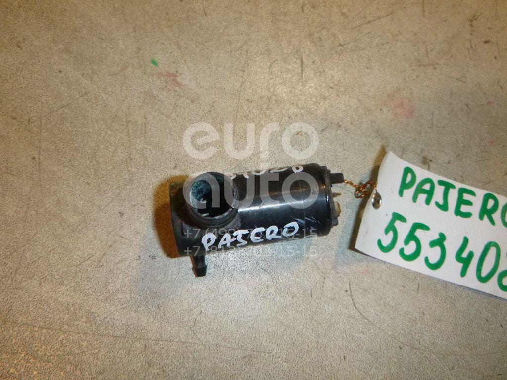 Насос омывателя для Mitsubishi Pajero/Montero II (V1, V2, V3, V4) 1997-2001;Pajero/Montero I 1982-1990;Pajero/Montero II (V1, V2, V3, V4) 1991-1996;L400 1994-2006;Space Gear 1995-2006;Pajero/Montero Sport (K9) 1997-2008 - Фото №1