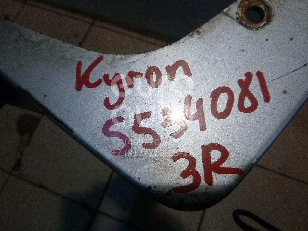 Накладка на порог (наружная) для Ssang Yong Kyron 2005>;Actyon 2005-2012 - Фото №1
