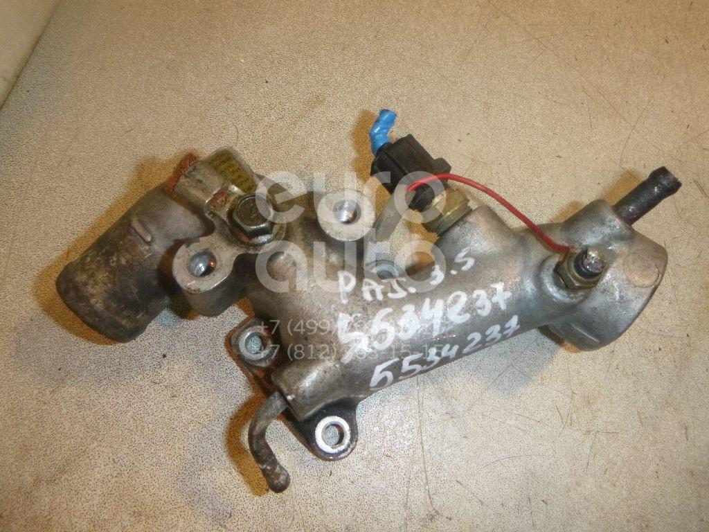 Фланец двигателя системы охлаждения для Mitsubishi Pajero/Montero II (V1, V2, V3, V4) 1997-2004;Pajero/Montero II (V1, V2, V3, V4) 1991-1996 - Фото №1