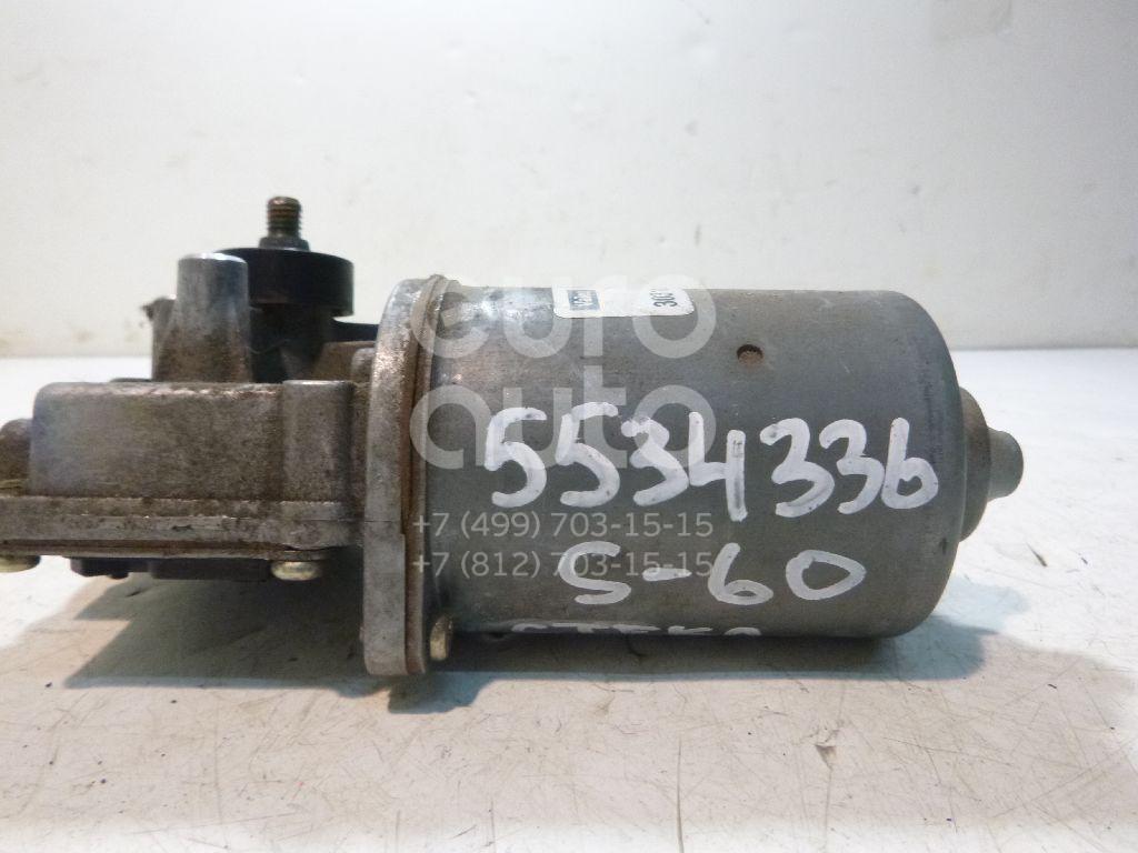 Моторчик стеклоочистителя передний для Volvo S60 2000-2009;V70 2001-2006;XC70 Cross Country 2000-2006;S80 1998-2006 - Фото №1