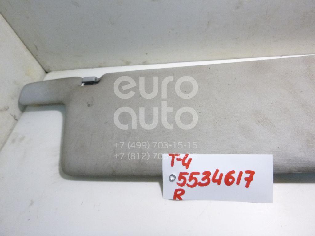 Козырек солнцезащитный (внутри) для VW Transporter T4 1996-2003;Transporter T4 1991-1996 - Фото №1
