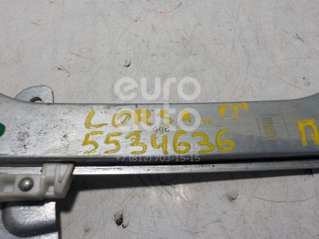 Стеклоподъемник механ. передний правый для Opel Corsa D 2006-2015 - Фото №1