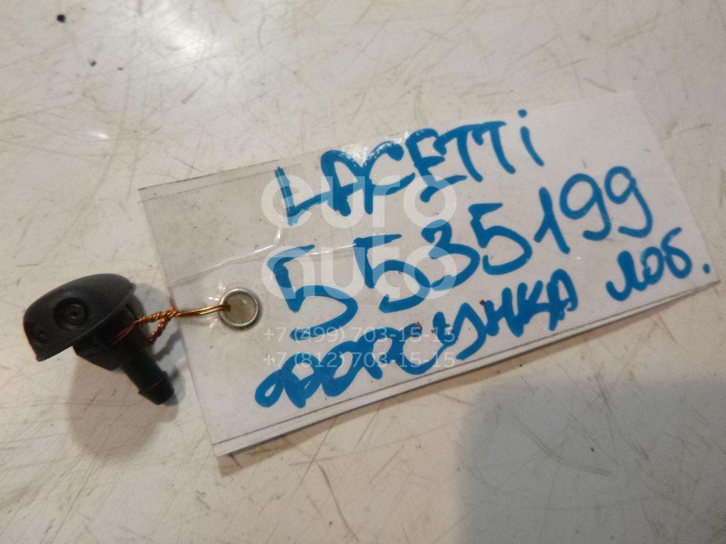 Форсунка омывателя лобового стекла для Chevrolet,Daewoo Lacetti 2003-2013;Lanos 1997-2009;Lanos 2004-2010 - Фото №1