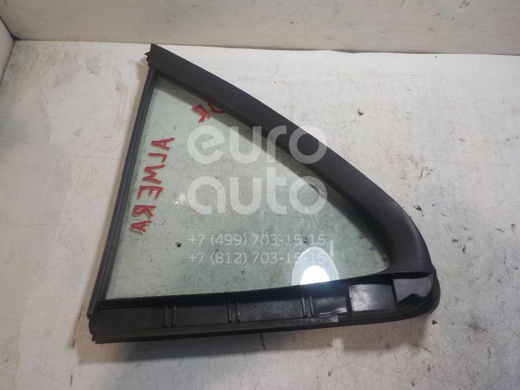 Стекло двери задней правой (форточка) для Nissan Almera N16 2000-2006 - Фото №1