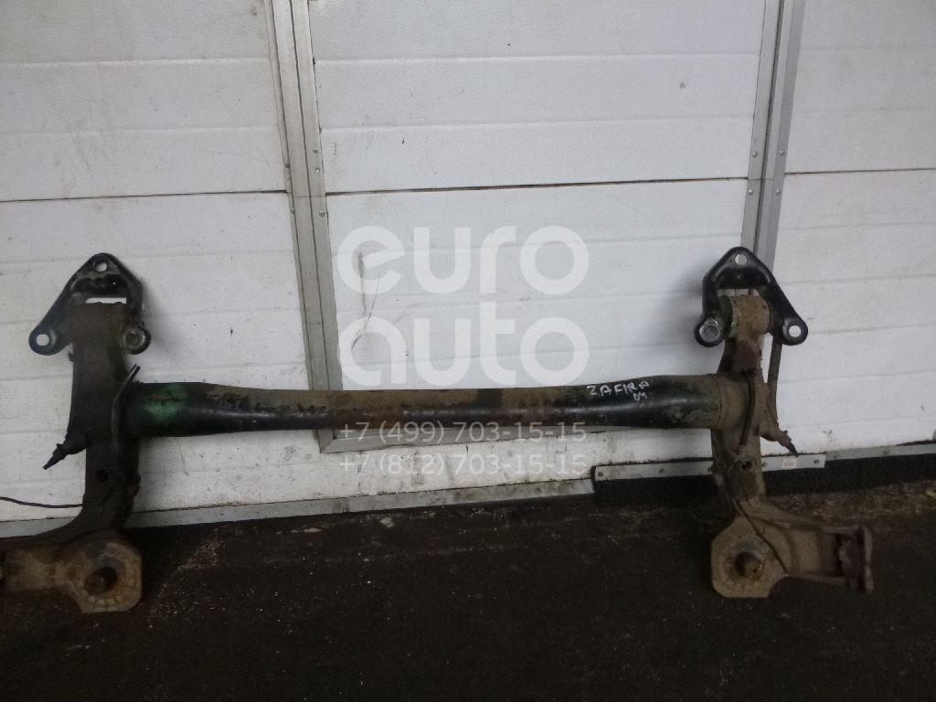 Балка задняя для Opel Zafira (F75) 1999-2005;Astra G 1998-2005 - Фото №1
