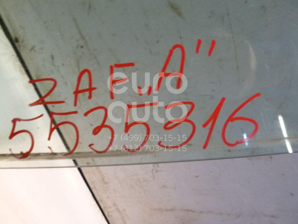 Стекло двери передней левой для Opel Zafira (F75) 1999-2005 - Фото №1