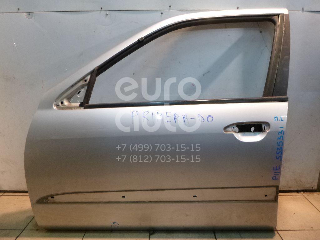 Дверь передняя левая для Nissan Primera P11E 1996-2002;Primera WP11E 1998-2001 - Фото №1