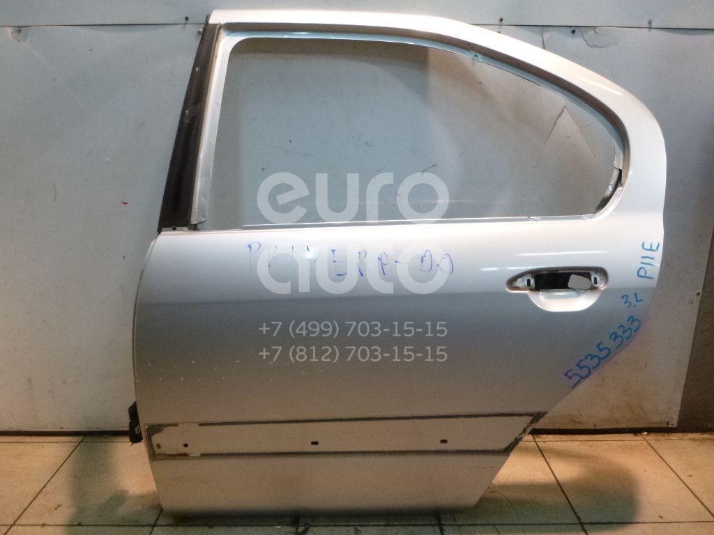 Дверь задняя левая для Nissan Primera P11E 1996-2002 - Фото №1